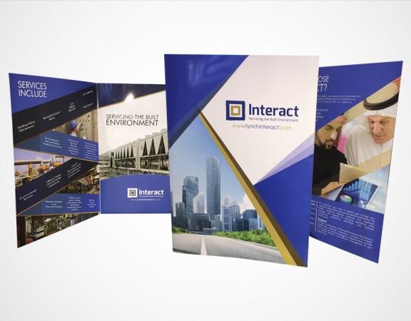 brochure design portfolio 1