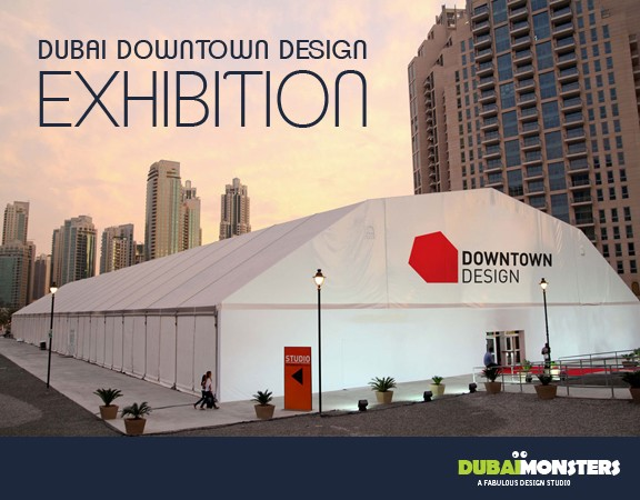 Dubai Downtown Design exhibition 2015