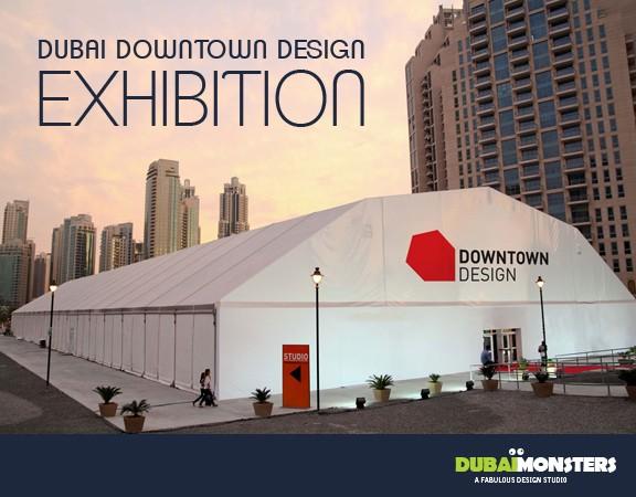 Dubai Downtown Design exhibition 2015