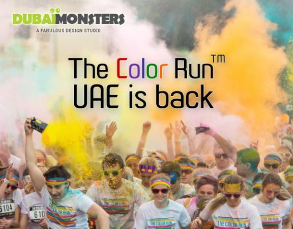 Color Run Dubai