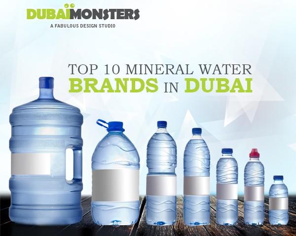 Mineral Water Brands in Dubai