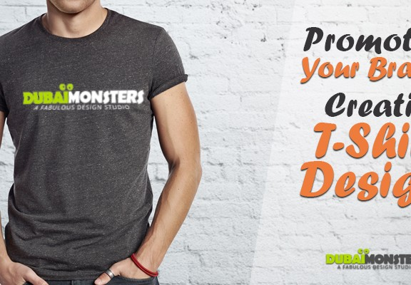 Promote Your Brand via Creative T-Shirt Designs