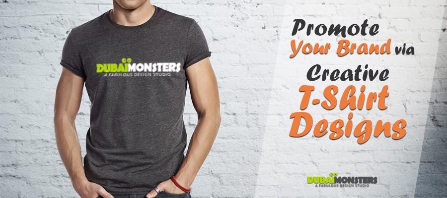 Promote Your Brand via Creative T-Shirt Designs