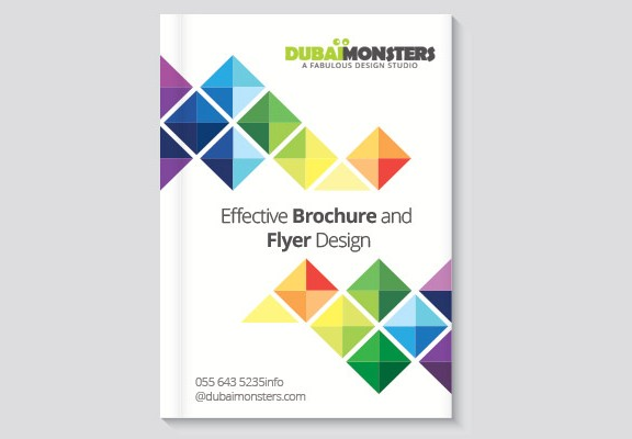 effective brochure and flyer design