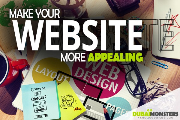 make your website more appealing