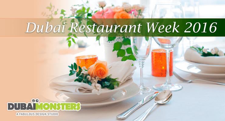 Dubai Restaurant Week 2016