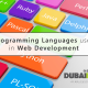 Programming Languages used in Web Developement