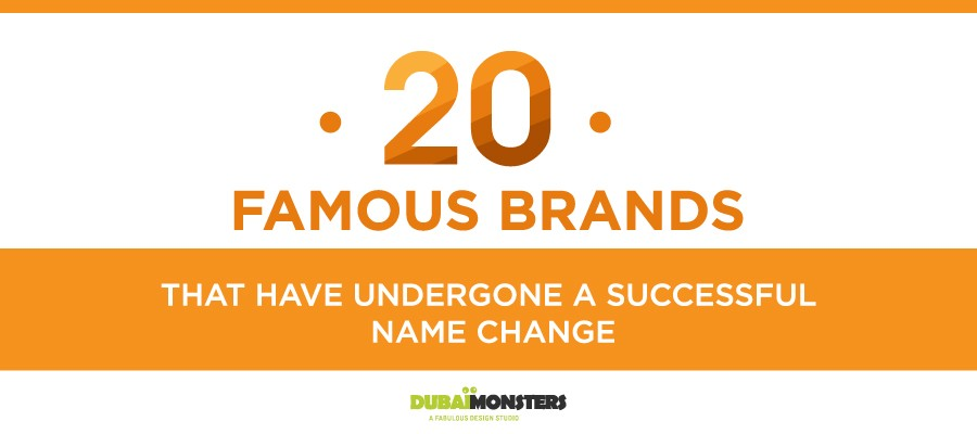 20 Famous Brands that have Undergone
