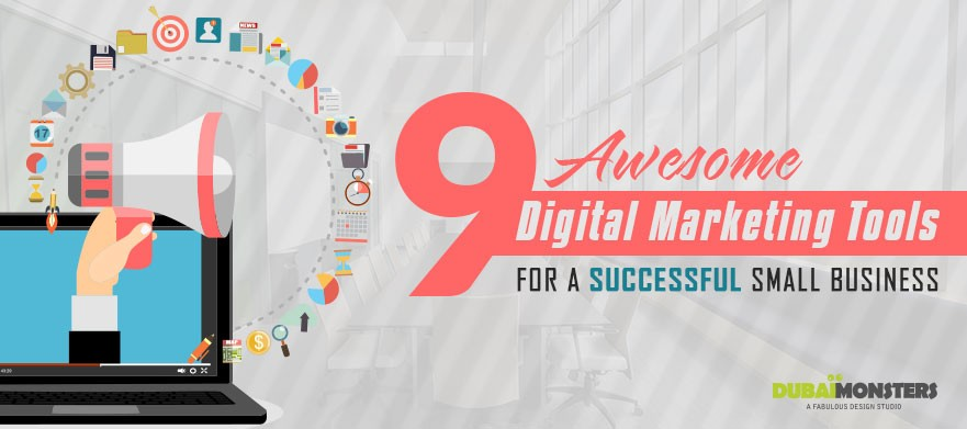9 Awesome Digital Maketing Tools