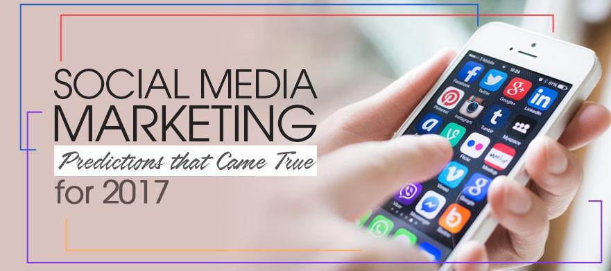 Social Media Marketing Predictions- Dubaimonsters