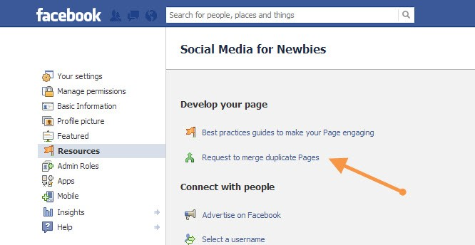 How to merge Facebook-Pages - DubaiMonsters