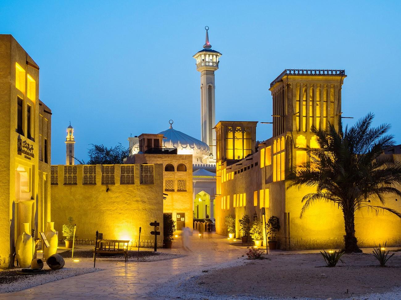 Dubai's Bastakiya Quarter