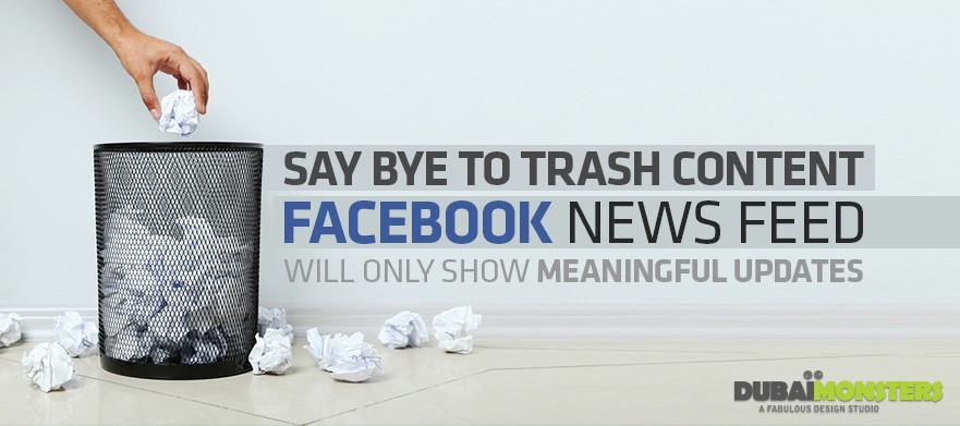 bye bye to facebook newsfeed