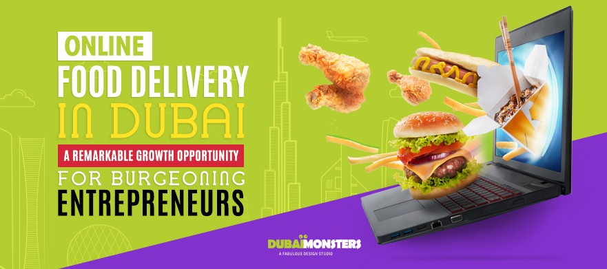 Online food delivery in Dubai